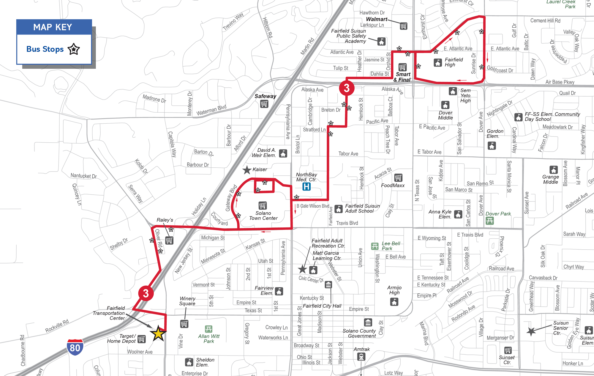 Image for Route 3