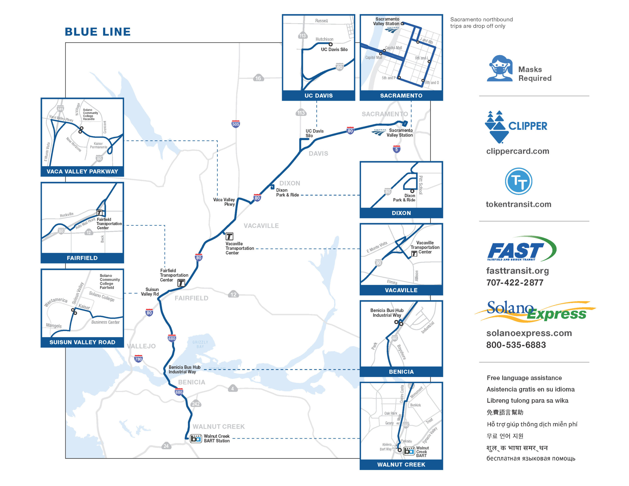 Image for FAST Blue Line – B